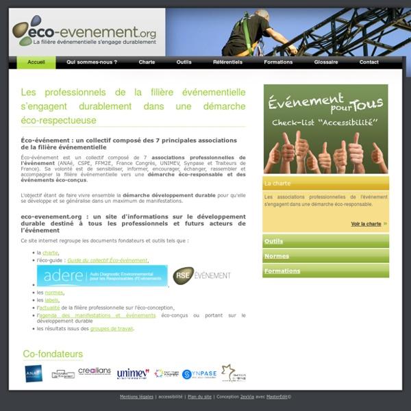Développement durable et organisation d'événement - Eco-événement