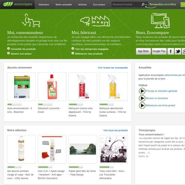 Plateforme de rencontre consommateurs - marques vertueuses