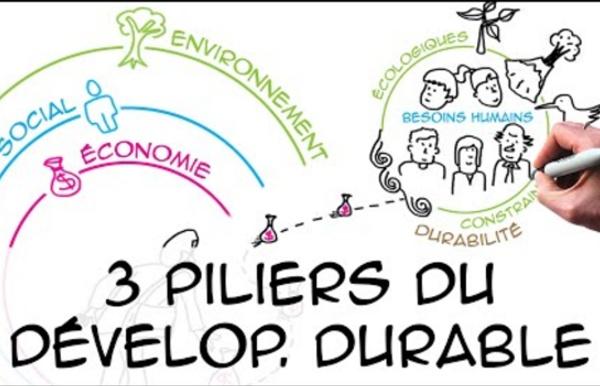 VIDEO 4 Les 3 piliers du développement durable (regard scientifique) (4'07)