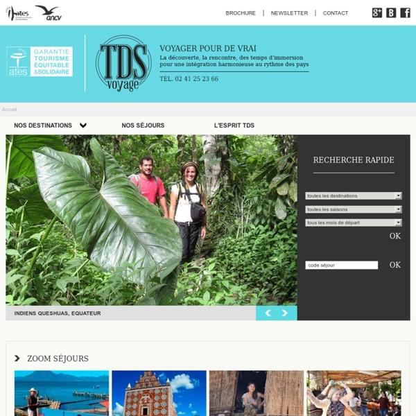 Tourisme et développement solidaires