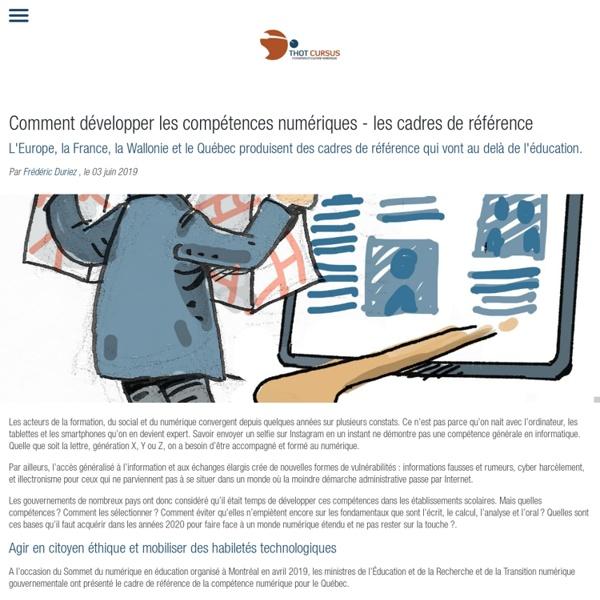 Comment développer les compétences numériques - les cadres de référence