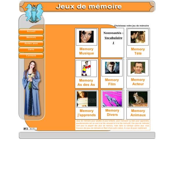 Jeux de mémoire en ligne