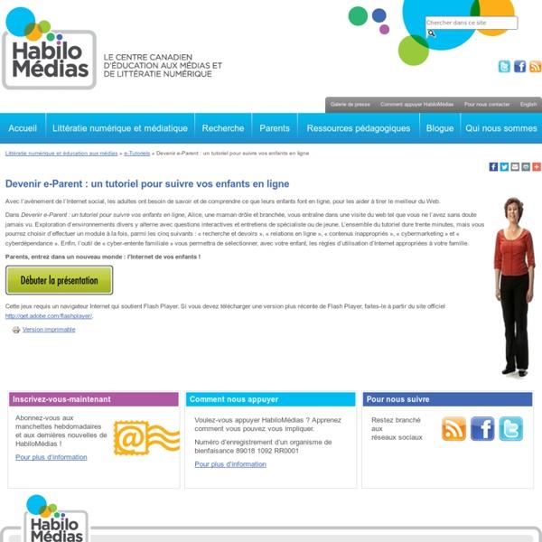Devenir e-Parent : un tutoriel pour suivre vos enfants en ligne