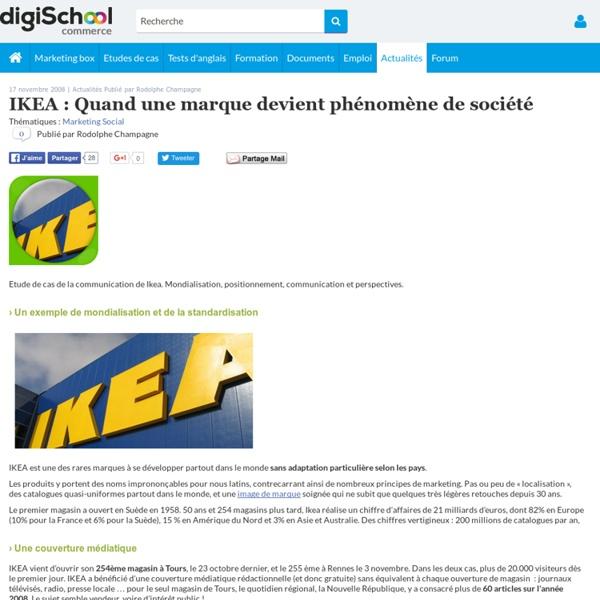 IKEA : Quand une marque devient phénomène de société