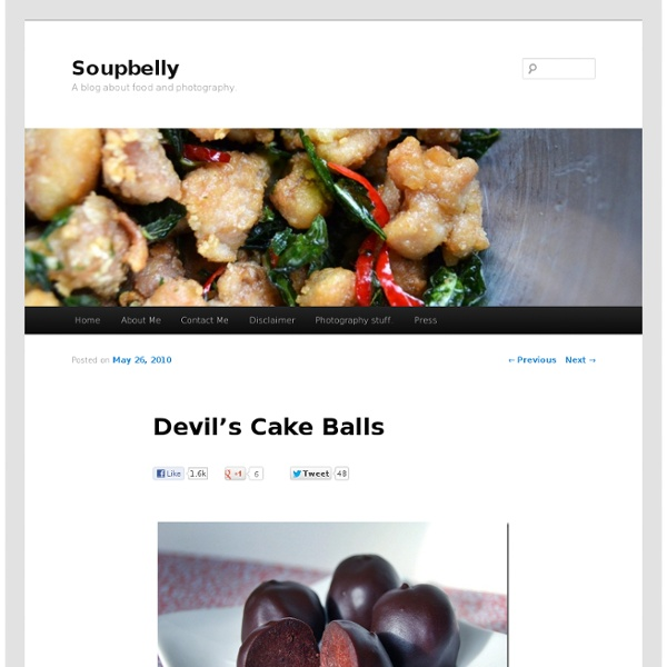Devil's Cake Balls