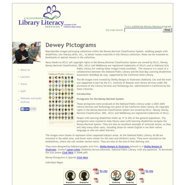 Dewey Pictograms
