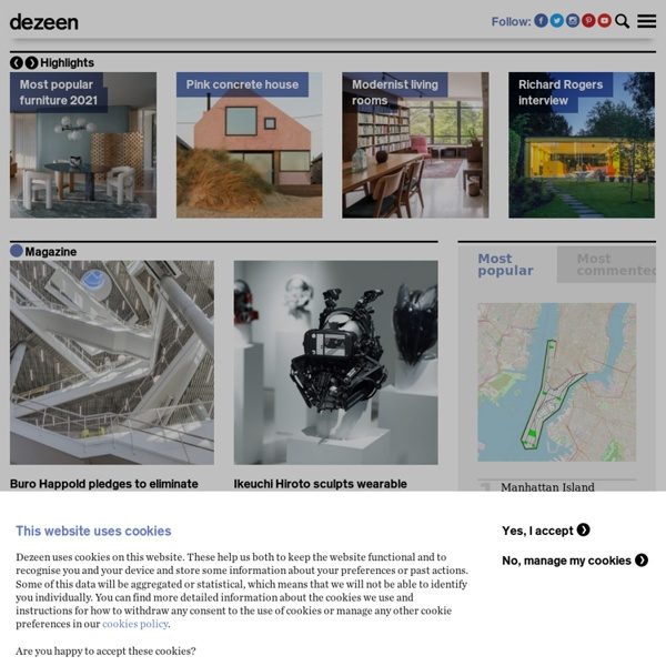 Le blog des tendances design, technologies, architecture, web -