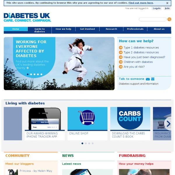 Diabetes UK – Care. Connect. Campaign.