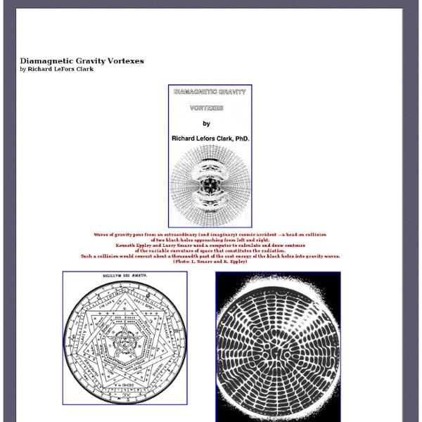 Diamagnetic Gravity Vortexes