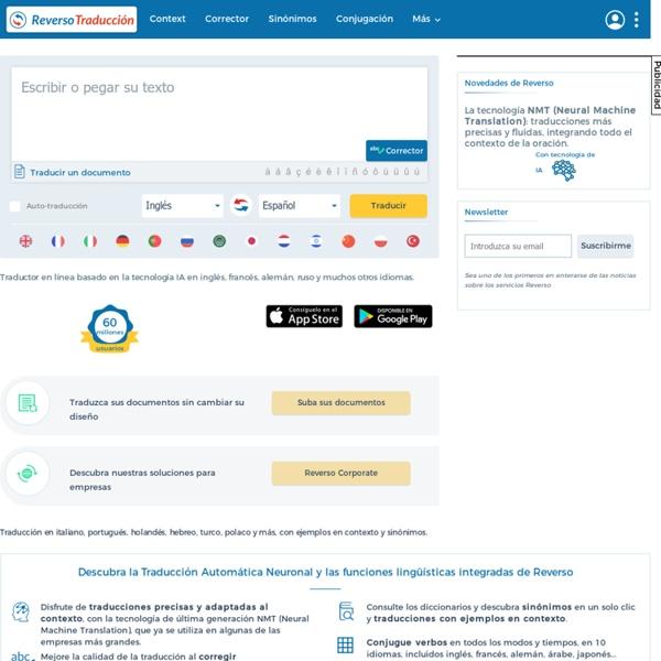 Traductor, diccionario, definición, traducción online