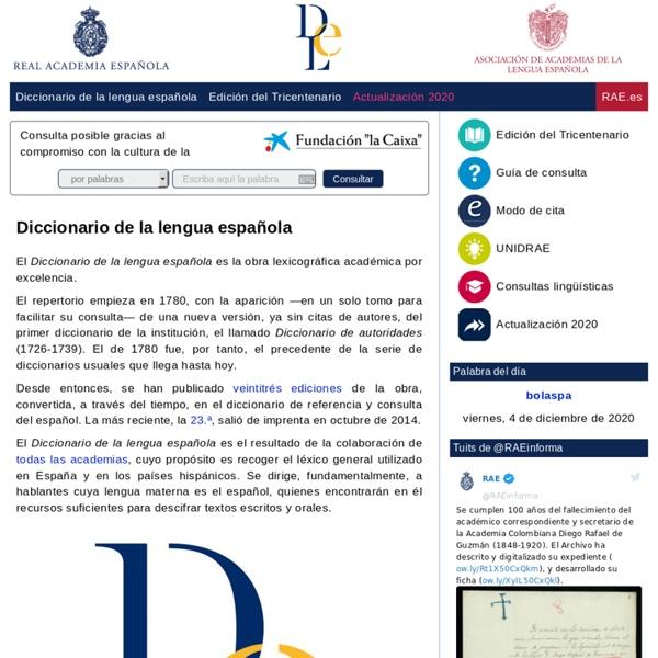Diccionario de la lengua española - Vigésima segunda edición