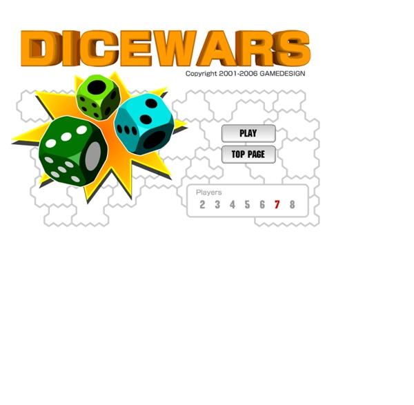 DICEWARS - flash game