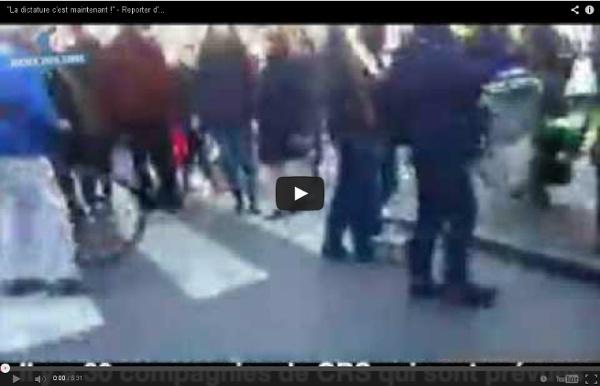 AntiFa police parallèle franco- Israelienne