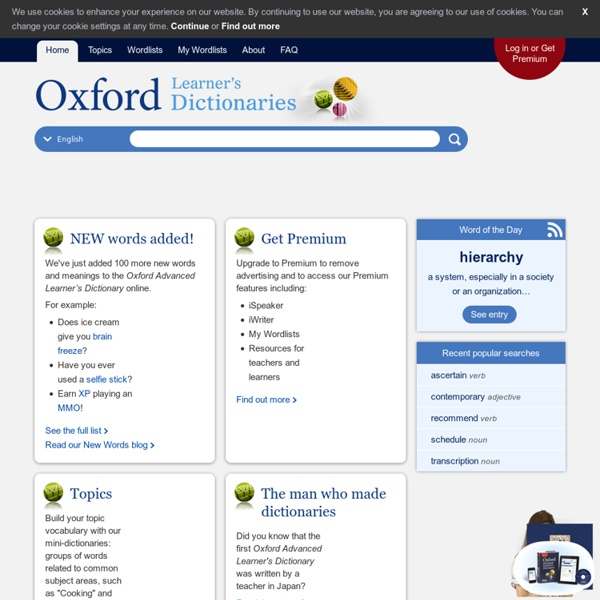 AUDIO | Pronunciation in English - Cambridge Dictionary