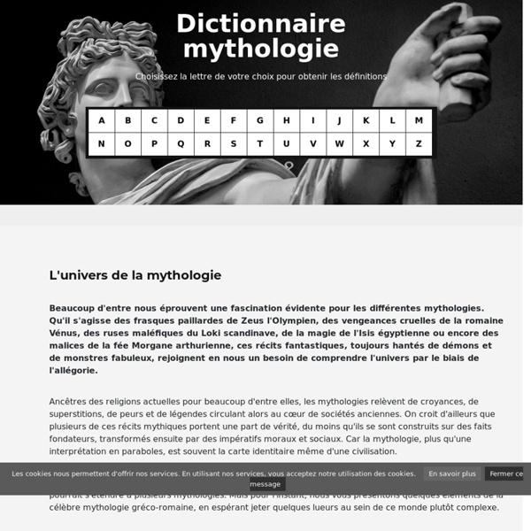 Dictionnaire mythologique