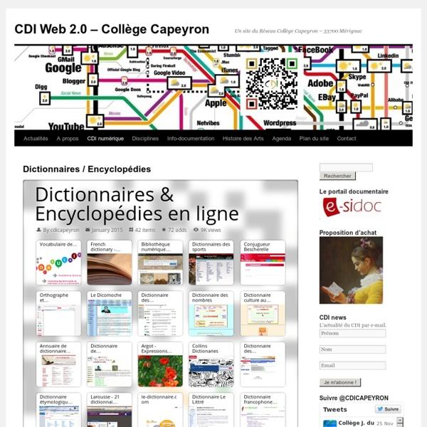 Dictionnaires / Encyclopédies