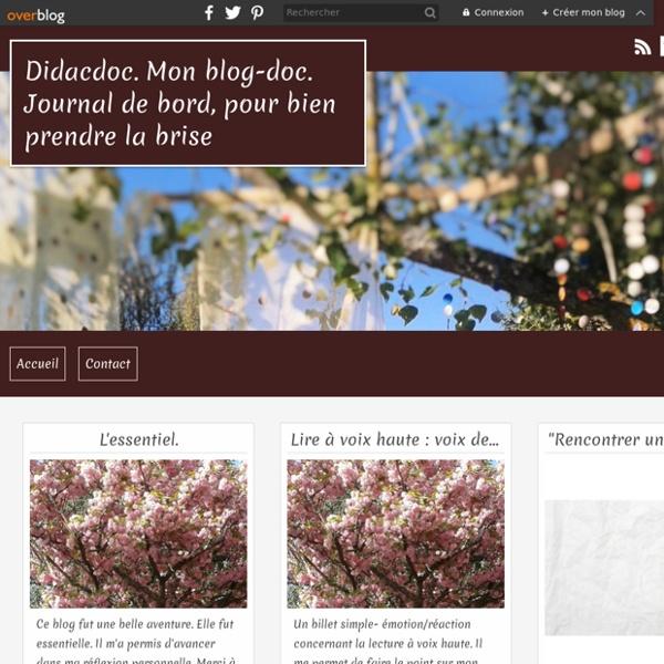 Didacdoc. Mon blog-doc