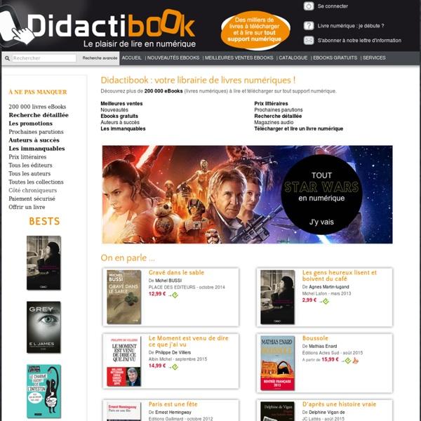 Didactibook - Librairie de livres numériques (eBooks)