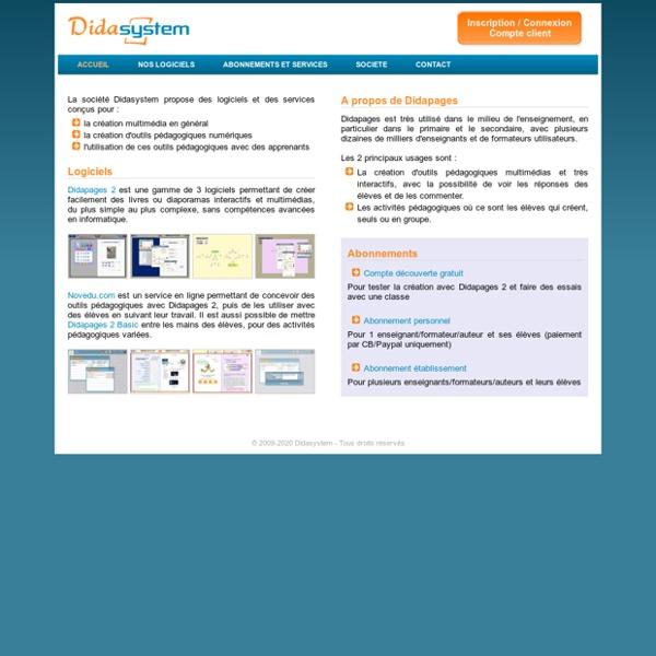 Télécharger Didapages 1.2