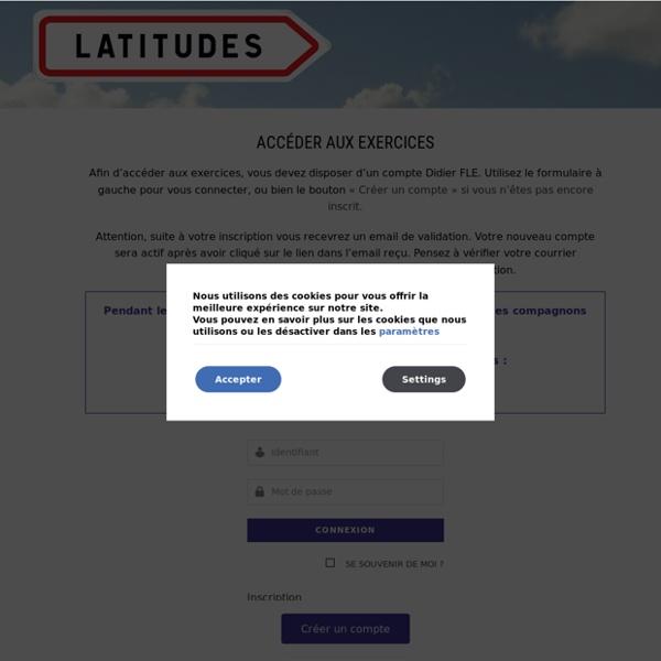 Didier Latitudes