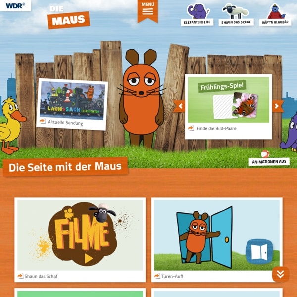 Neues von der Maus - Die Seite mit der Maus - WDR Fernsehen