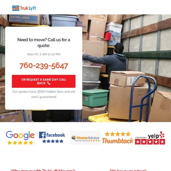 Moving companies San Diego