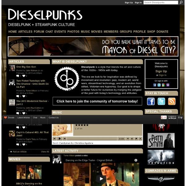 Dieselpunks - Dieselpunk + Steampunk Culture
