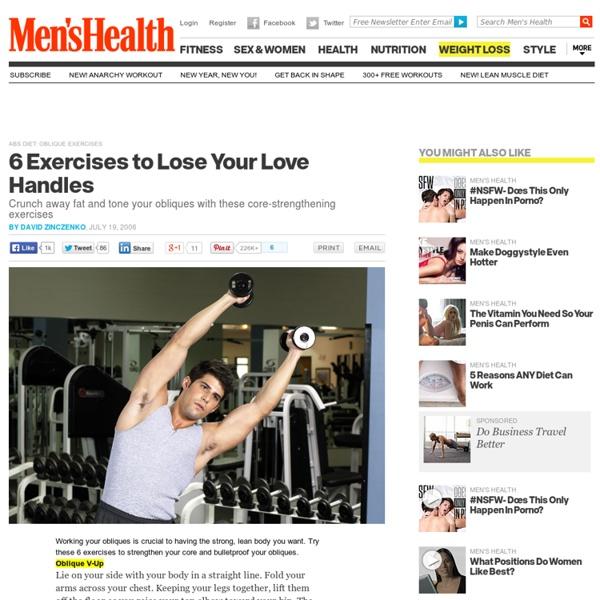 Abs Diet: Oblique Exercises