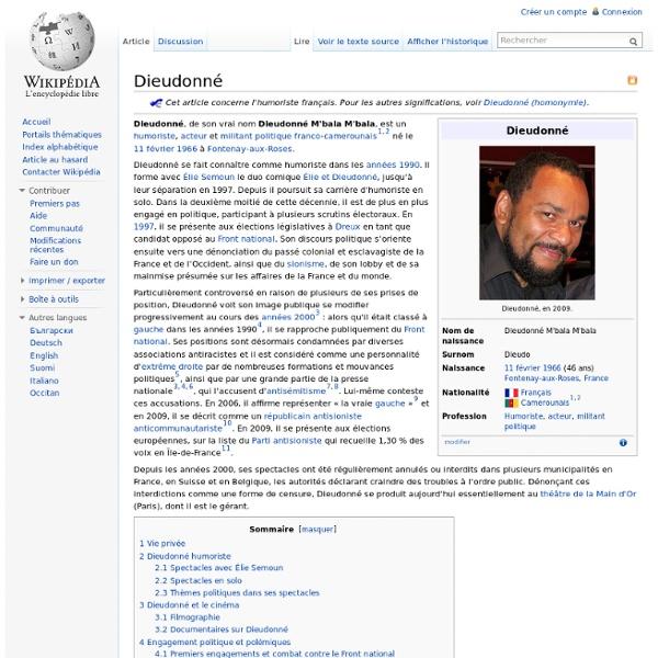 Dieudonné (Wikipédia)
