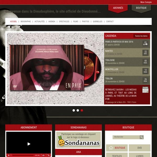 DieudoSphere.com – Le site officiel de Dieudonné