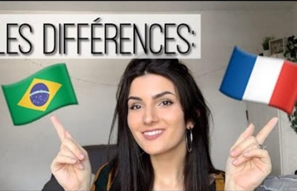 LES DIFFÉRENCES BRÉSIL FRANCE