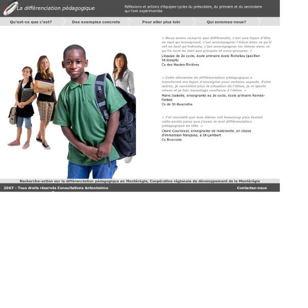 Differenciationpedagogique.com - La différenciation pédagogique