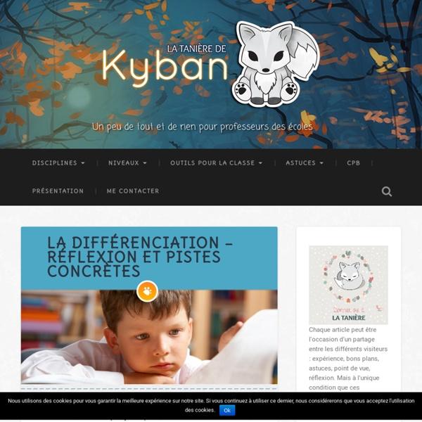 La différenciation - réflexion et pistes concrètes - La tanière de Kyban
