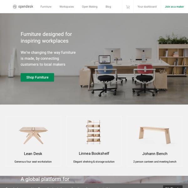 Designer furniture made locally