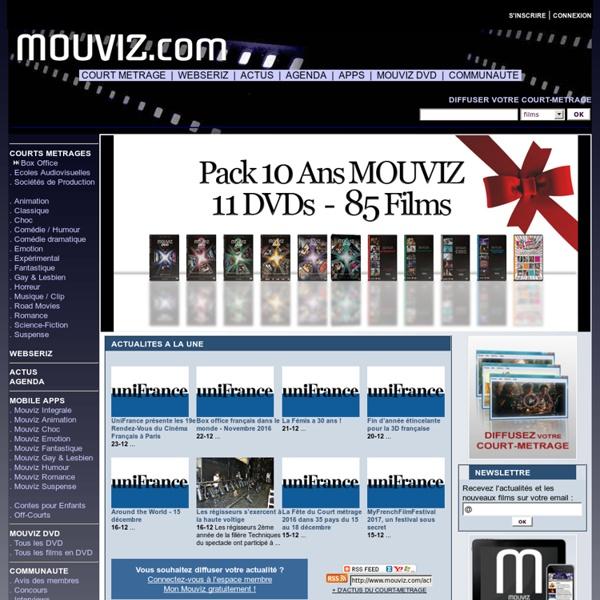 MOUVIZ - Diffusion de court métrage - courts métrages en DVD, VOD et téléchargement - Actualité et Agenda Cinéma