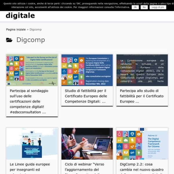Digcomp – cittadinanza digitale