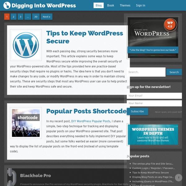 Take your WordPress skills to the next level.
