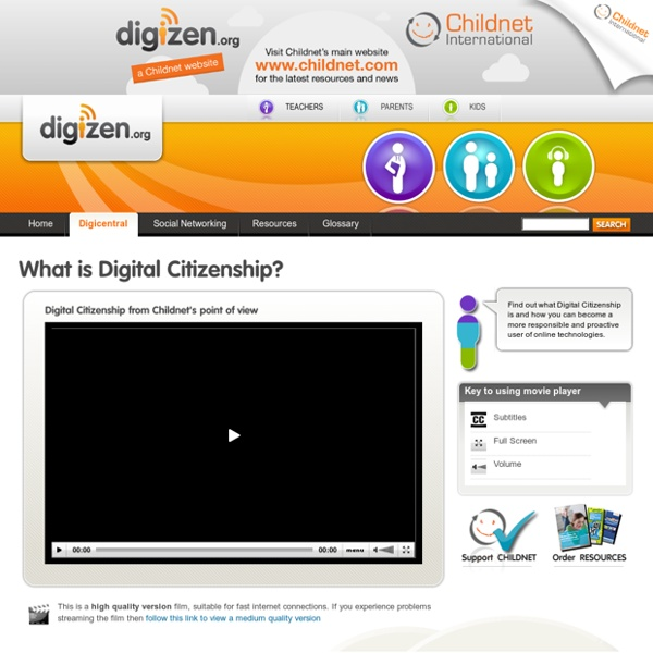 Digicentral - Digital citizenship