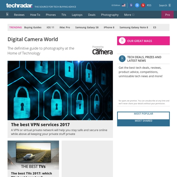 10 camera techniques every beginner photographer should learn Digital Camera World