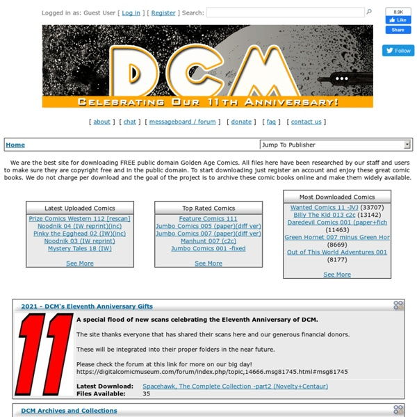 The Digital Comic Museum