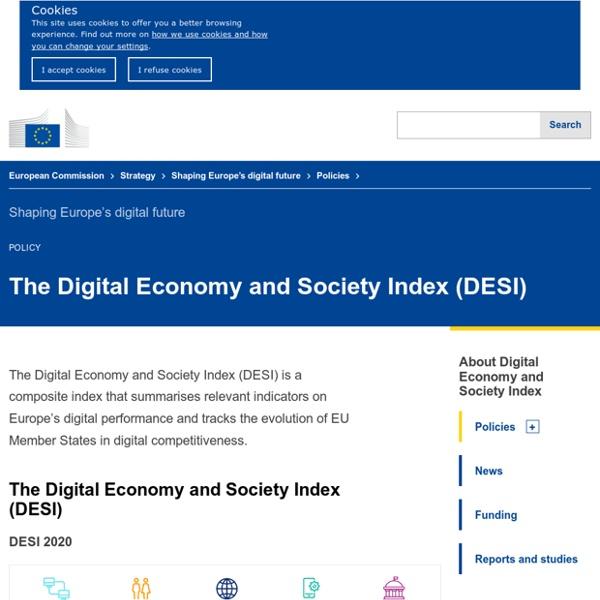 The Digital Economy and Society Index (DESI)