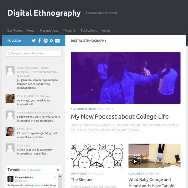Digital Ethnography - @ Kansas State University