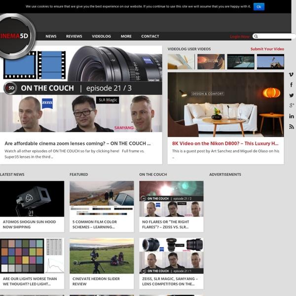 Digital Filmmaking News & Reviews