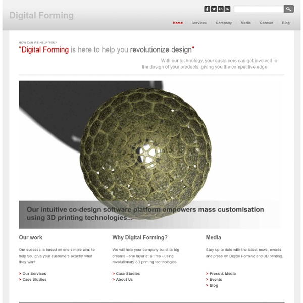 Digital Forming - Home