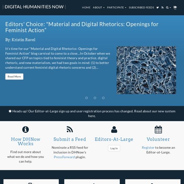 Digital Humanities Now