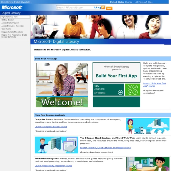 Digital Literacy Home
