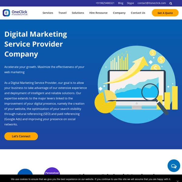 Digital Marketing Service Provider Company in India