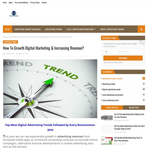 How To Growth Digital Marketing & Increasing Revenue?