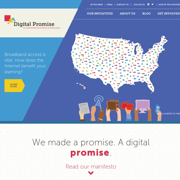 Digital Promise - Accelerating Innovation in Education