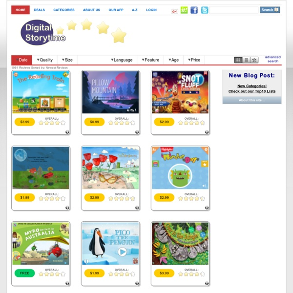 Digital Storytime - Reviews of Childrens Picture Book Apps for iPad